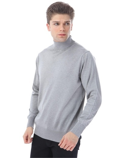 Rodi Jeans Erkek Triko Yarım Balıkçı DS21KE371745 Gri